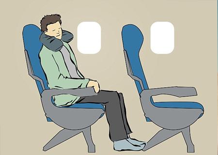[Kinh nghiệm] 9 tư thế giúp bạn ngủ ngon trên máy bay