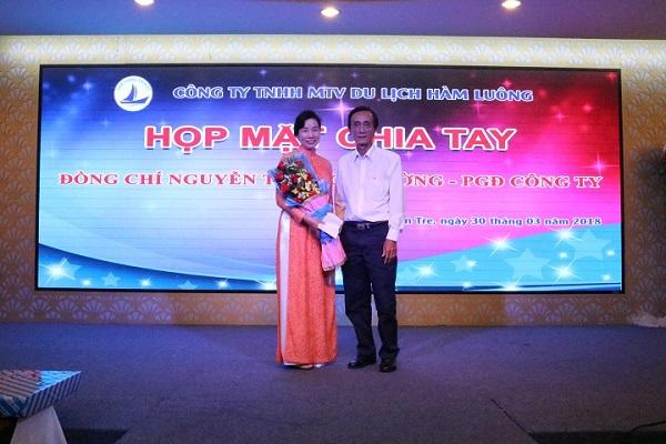 Họp mặt chia tay Đ/c Nguyễn Thị Bích Hường – Phó GĐ công ty