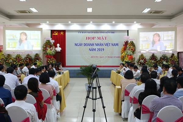 Họp mặt ngày Doanh nhân Việt Nam năm 2019